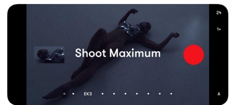 Nizo - приложение для создания роликов кинематографического качества
