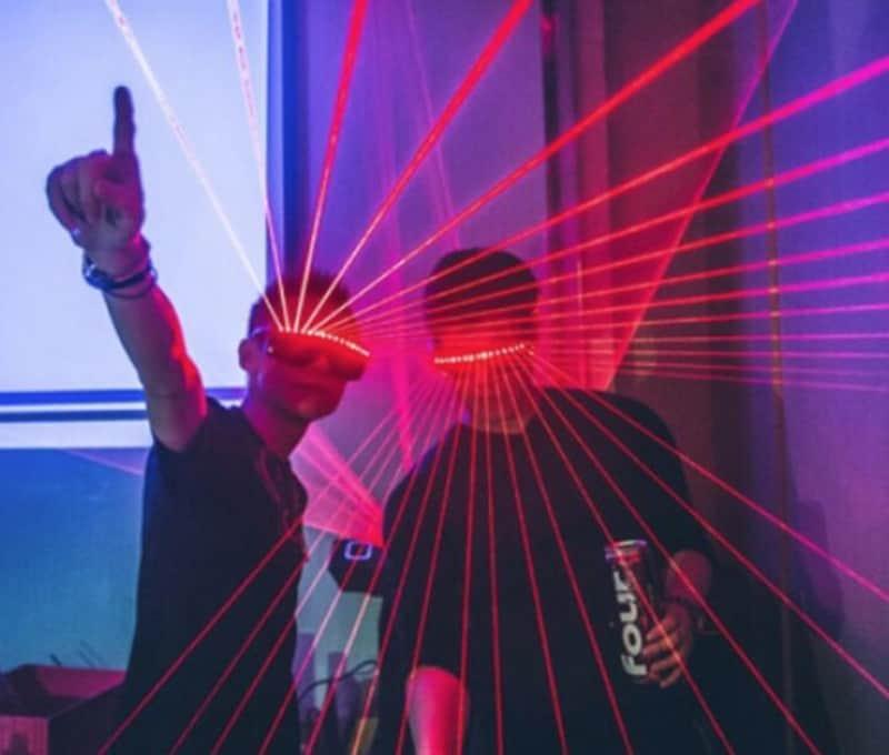 Лазерные очки для ночных клубов