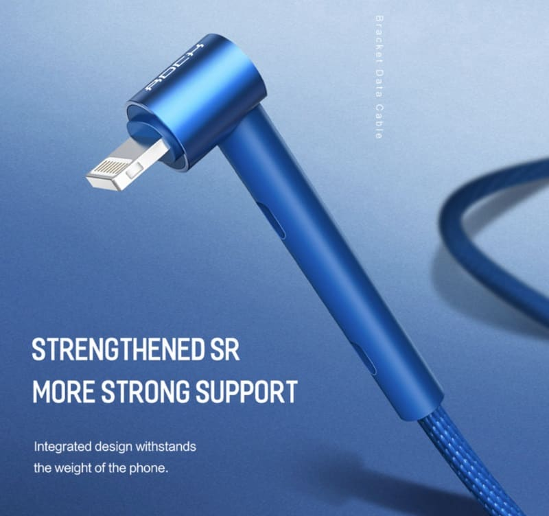 Зарядный кабель с функцией подставки Rock