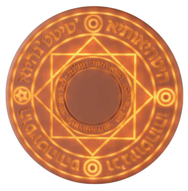 Беспроводная зарядка в виде магического круга Kobwa
