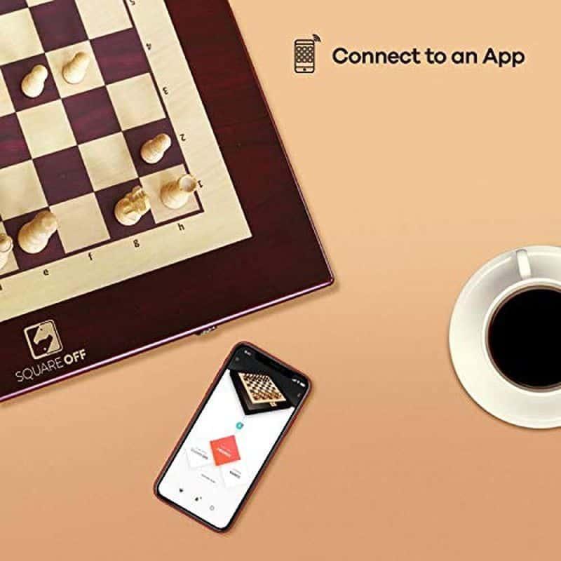 Умная шахматная доска Square Off