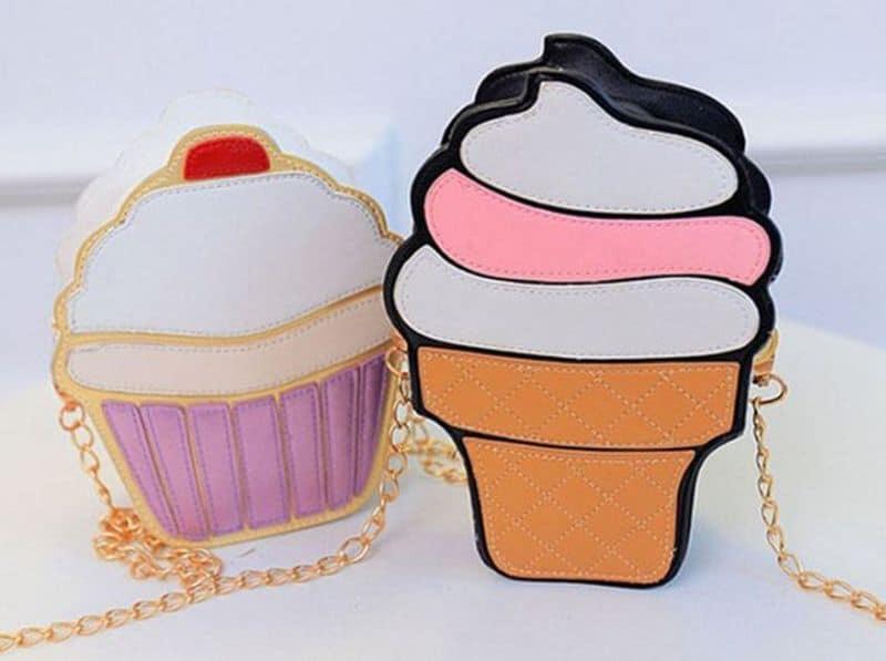 Сумочки в виде мороженого