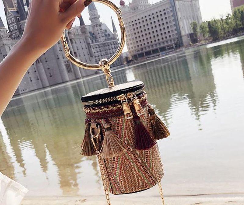 Цилиндрическая сумка