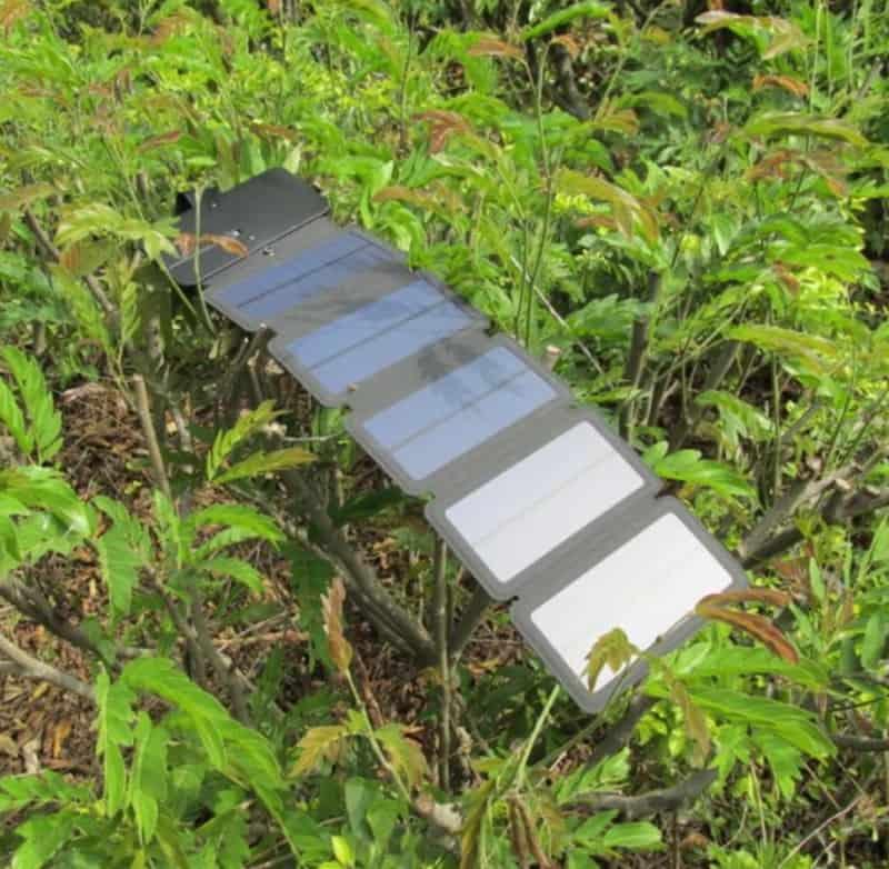 Раскладная солнечная панель