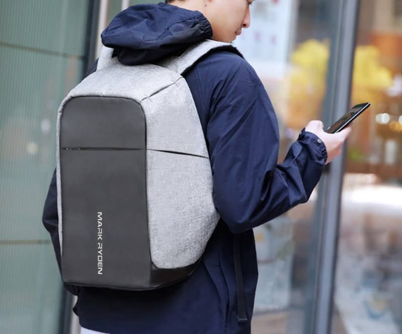 Рюкзак с защитой от воришек