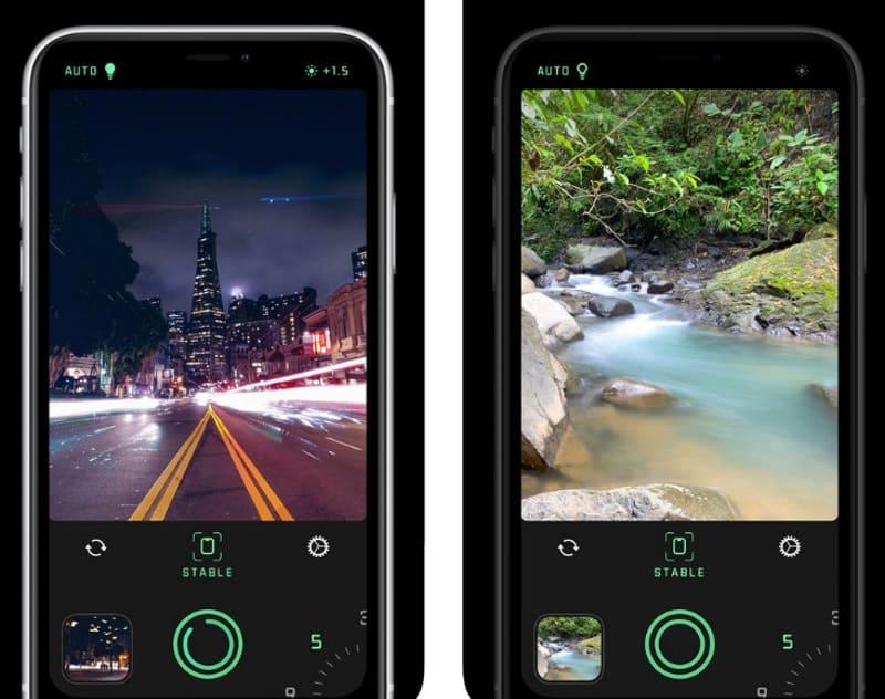 Spectre Camera — приложение для съёмки с длительной выдержкой