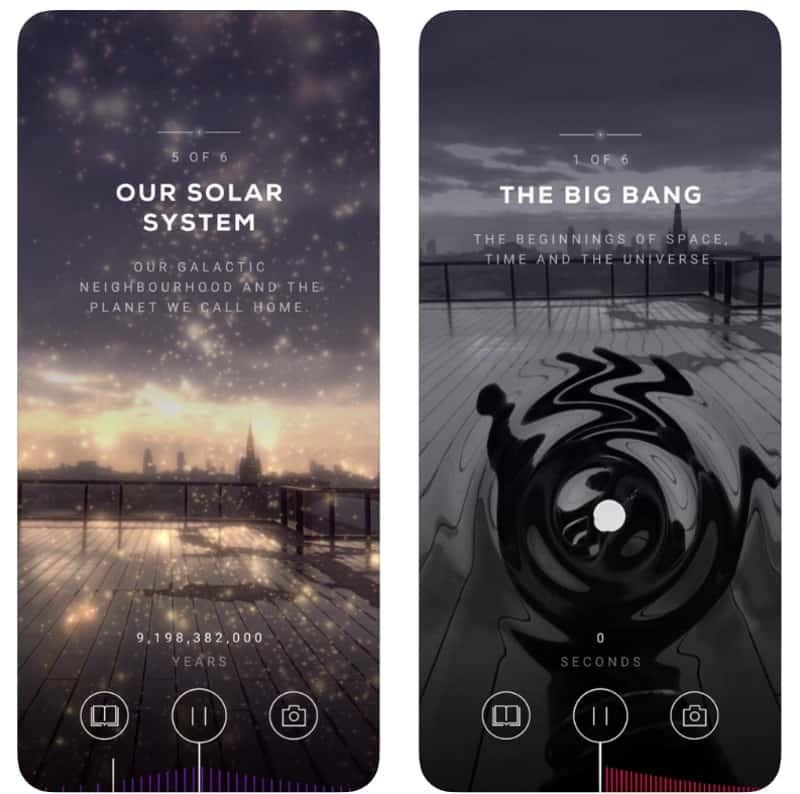 Big Bang AR - эволюция Вселенной в дополненной реальности