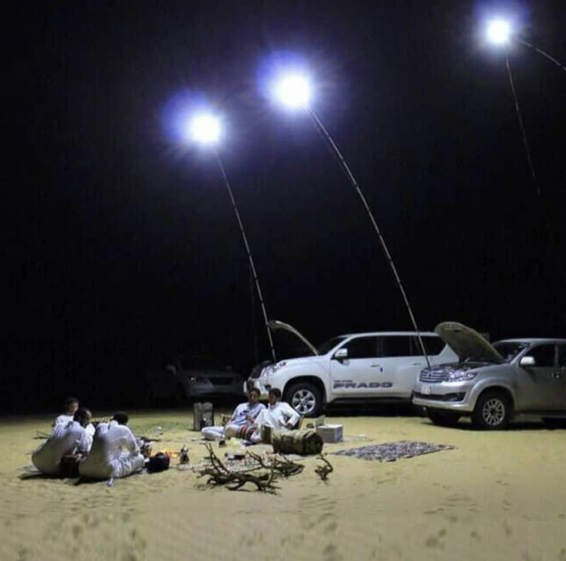 Осветительная мачта на светодиодах