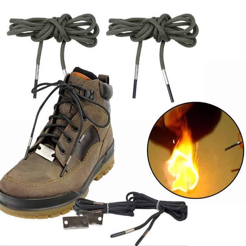 Шнурки с огнивом