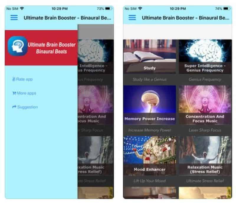 Ultimate Brain Booster - приложение для настройки мозга