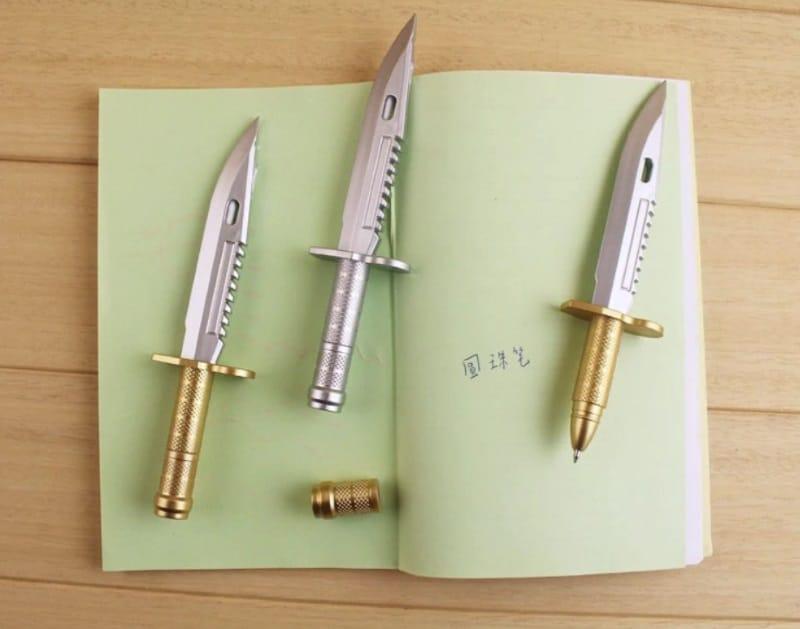 Шариковая ручка в форме ножа