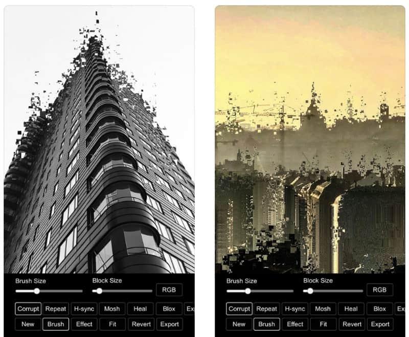DestroyPix - приложение для художественной деструкции фотографий