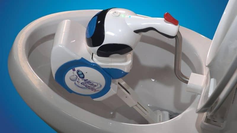 Роботизированный ёршик для чистки туалета Giddel