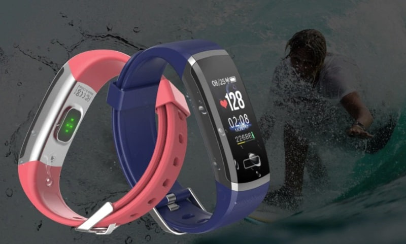 Фитнес-браслет с монитором сердечного ритма Wearpai GT101