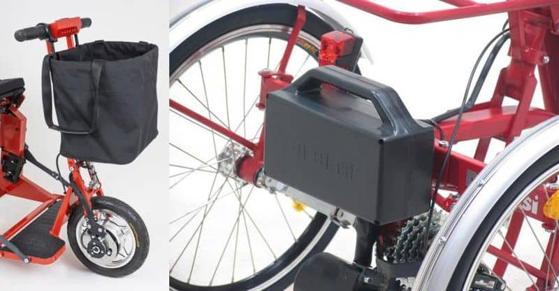 Складной электроскутер Di Blasi Model R30