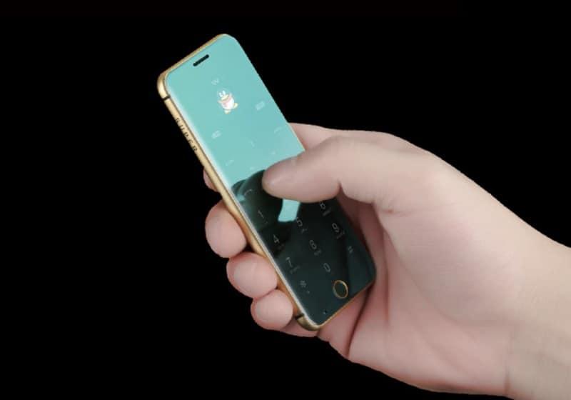 Ультратонкий телефон Anica T A16