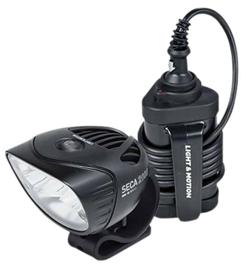 Мощный фонарь Light & Motion Seca 2000 Sport