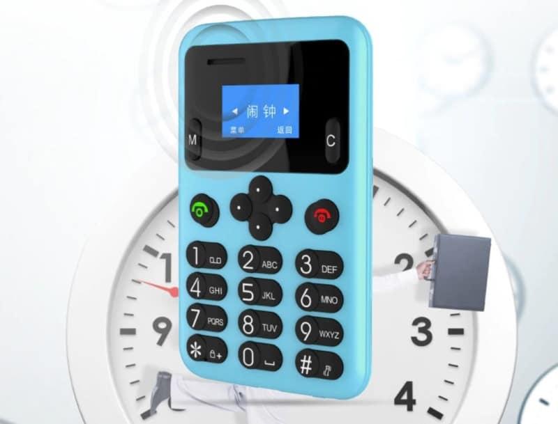 Телефон-карточка AEKU A6