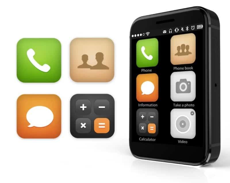 Смартфон в формате кредитки AEKU i5
