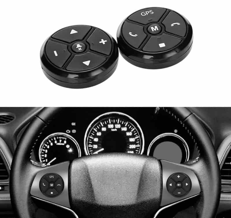 Кнопки дистанционного управления на руль