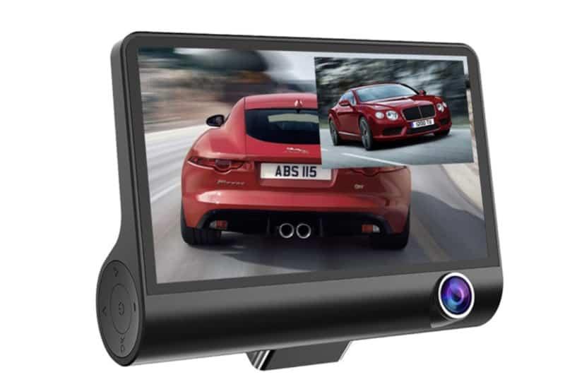 3-камерный видеорегистраторE-ACE