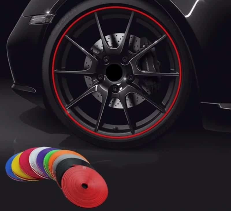 Цветная лента для дисков