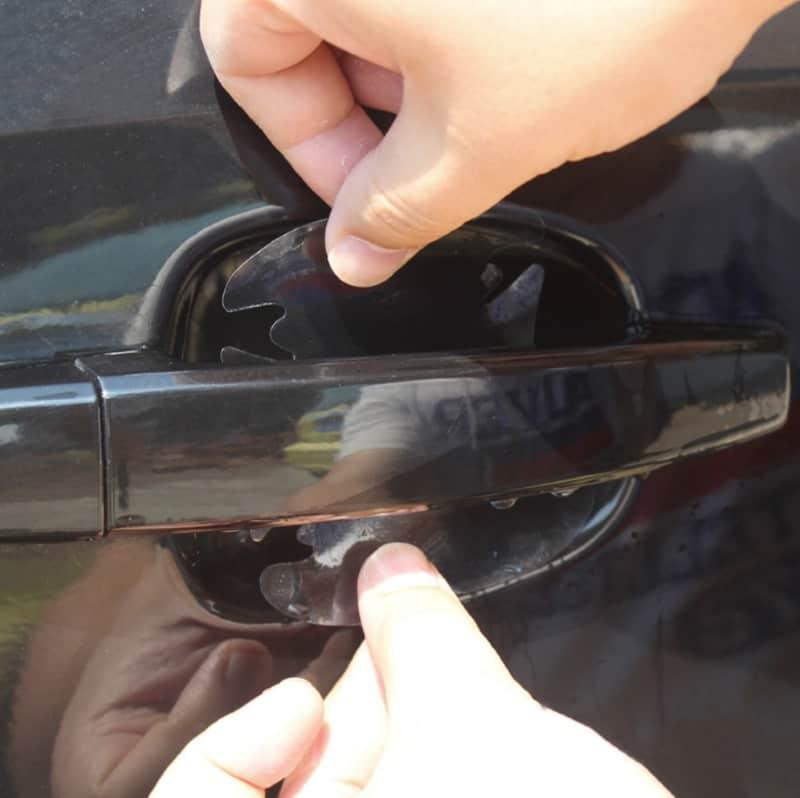 Защитная плёнка под дверную ручку