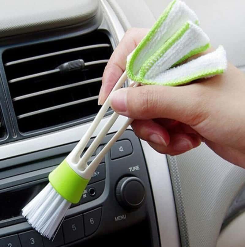 Двойная щётка для чистки вентиляции