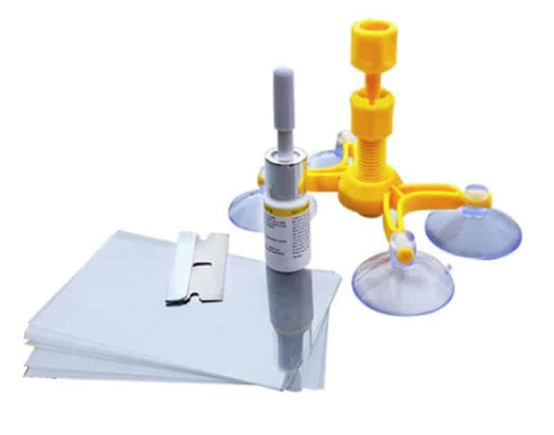 Набор для удаления трещин с остекления