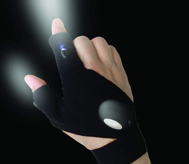 Перчатка с подсветкой