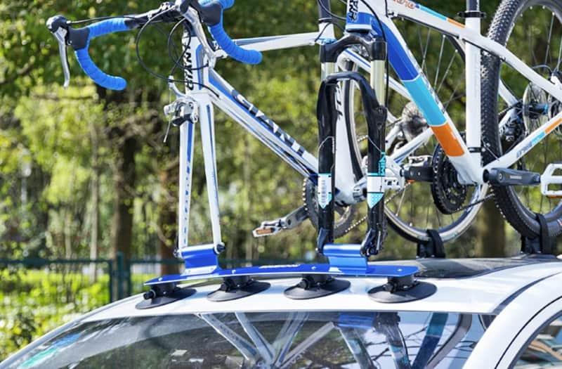 Стойка для велосипедов с креплением на крышу