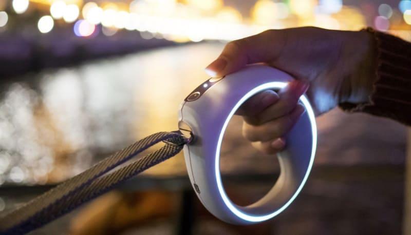 Умный поводок со светодиодной подсветкой Petkit