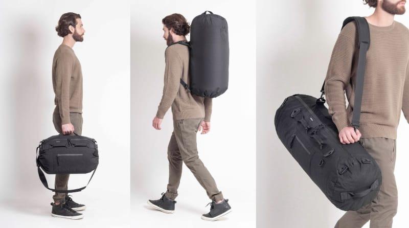 Универсальная дорожная сумка с изменяемым объёмом Piorama