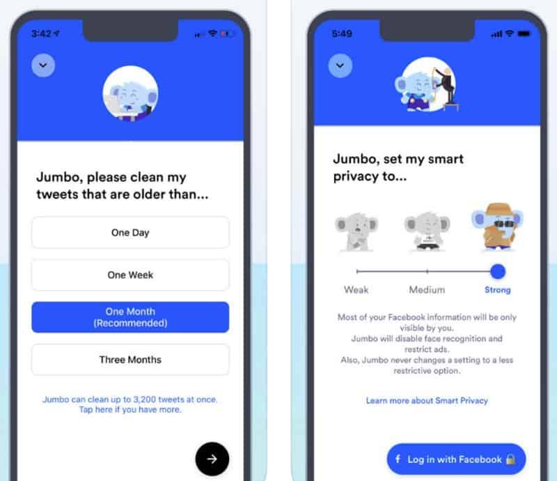 Jumbo — приложение для контроля приватности