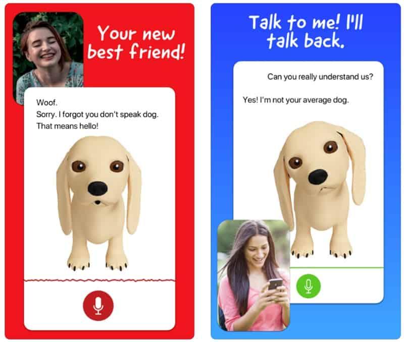 Talking Dog - приложение с говорящей собакой