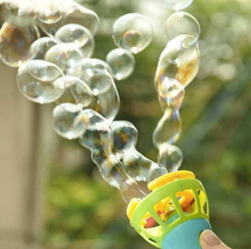 Автоматический генератор мыльных пузырей