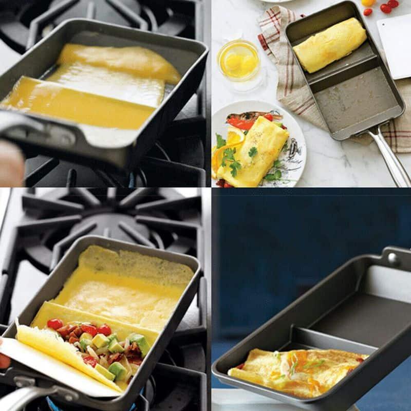 Антипригарная сковорода для приготовления омлета