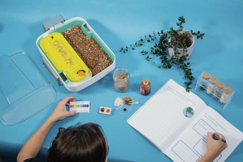 Мини-ферма для утилизации пищевых отходов The Hive 2.0
