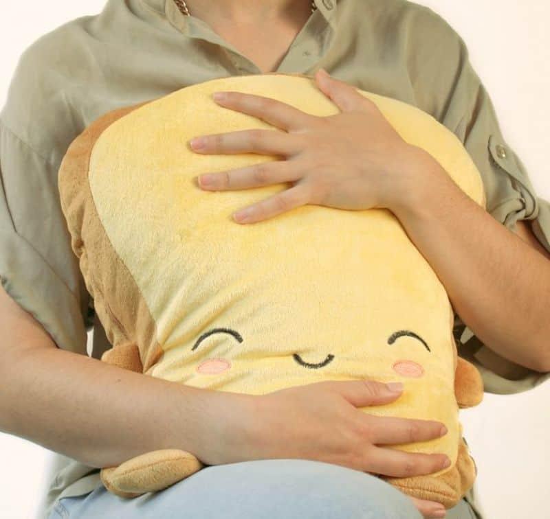 Подушка с подогревом в форме тоста