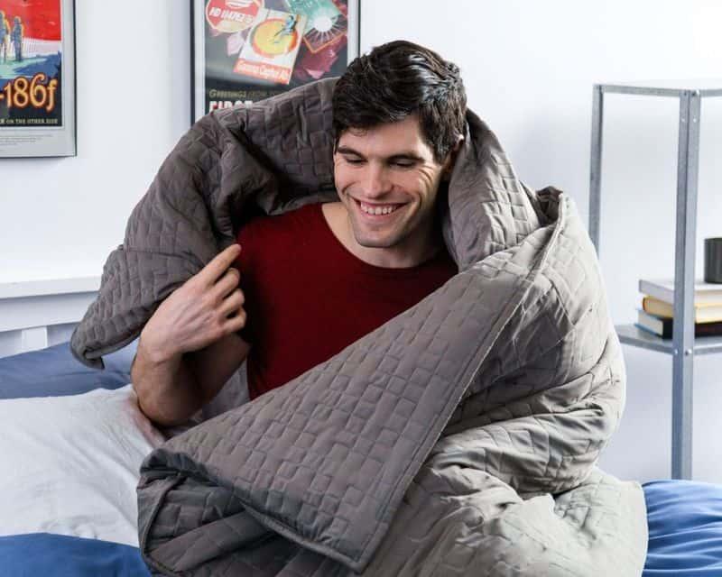 Одеяло для снятия стресса Gravity