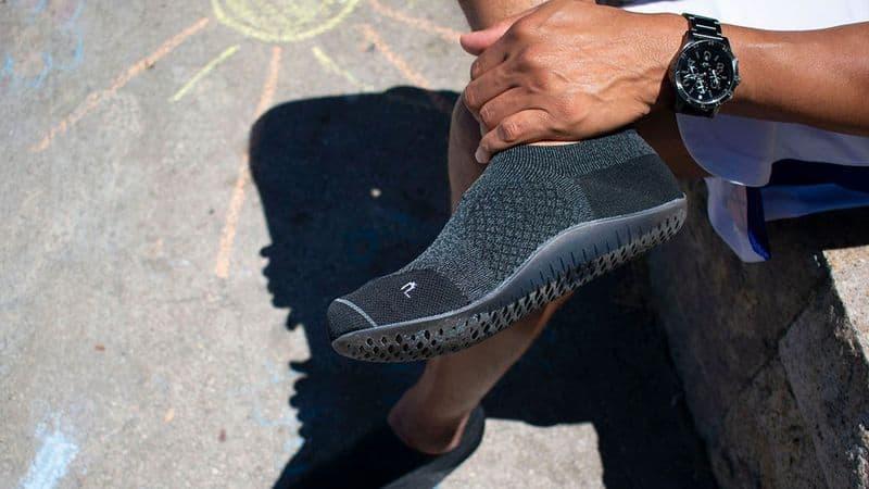 Спортивные носки с полимерной подошвой Parasoles