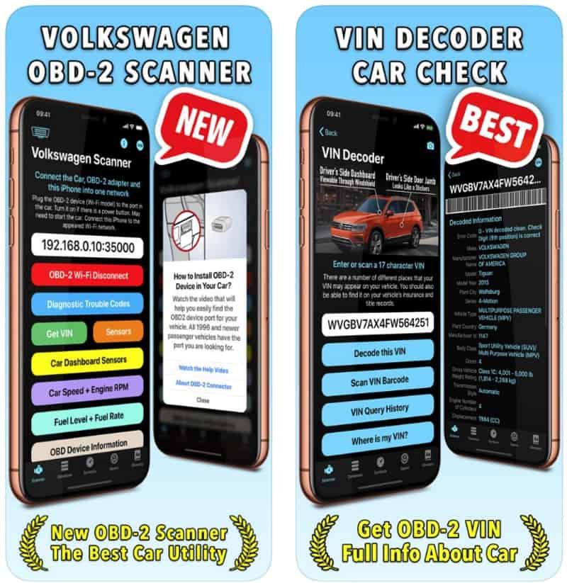 Volkswagen App - мощное приложение для диагностики автомобилей VW