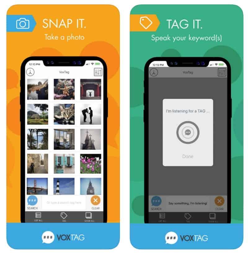 VoxTag - приложение для голосового поиска фотографий