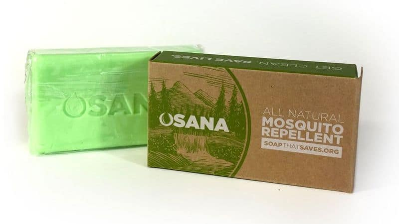 Мыло для защиты от комаров Osana