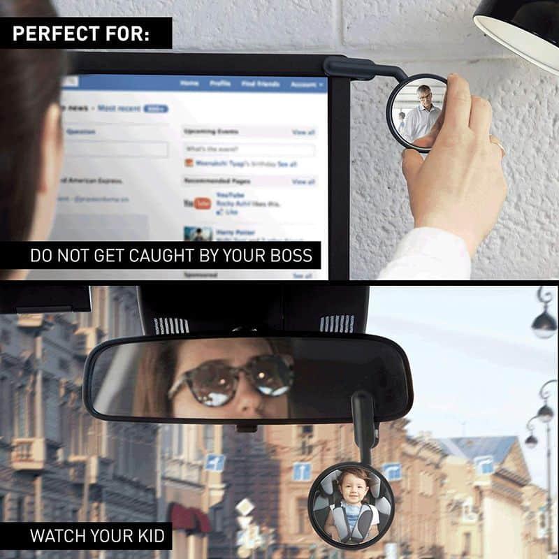 Зеркало заднего вида для ноутбуков