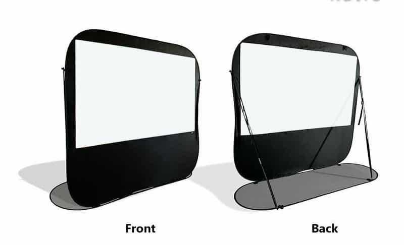 Складной экран для проектора Pop-Up Cinema