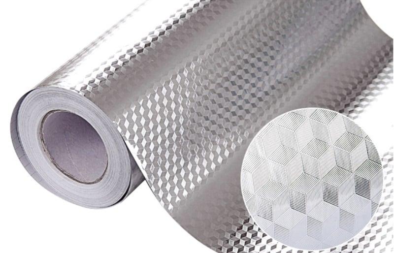 Универсальная алюминиевая наклейка для кухни