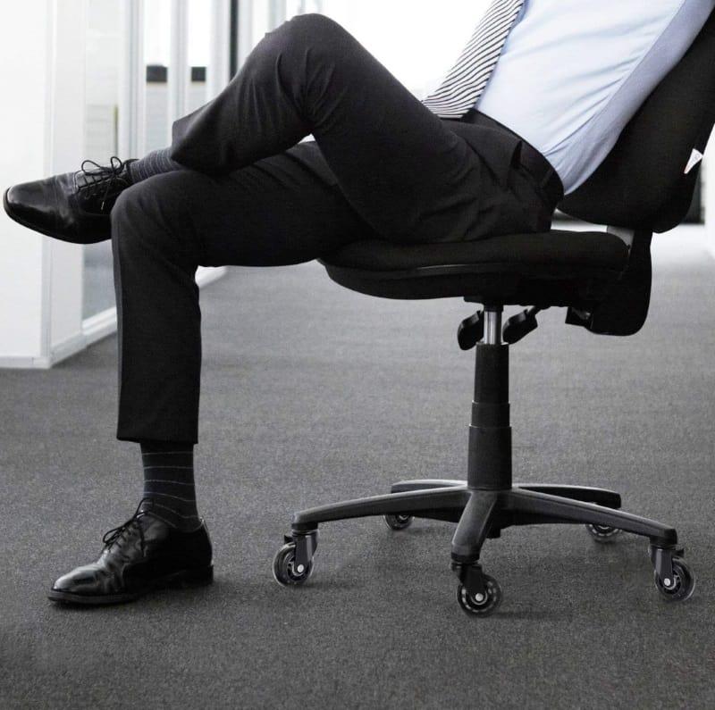 Бесшумные колёсики для офисных кресел