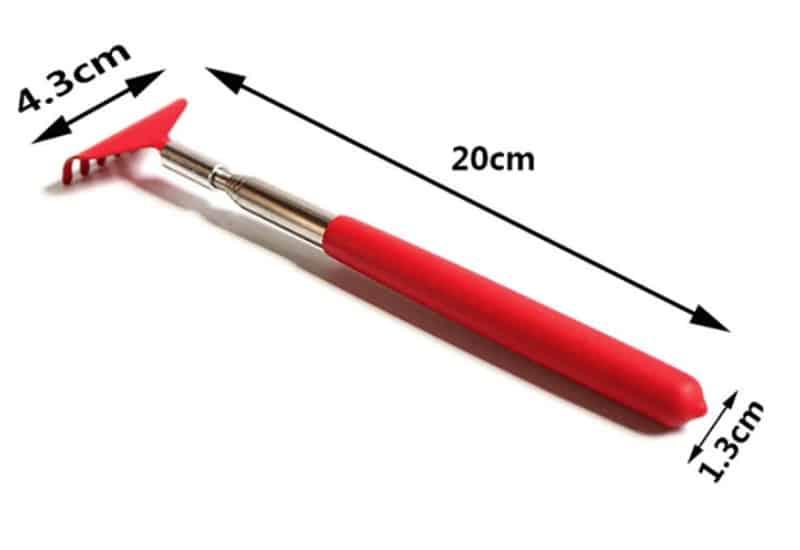 Телескопическая чесалка для спины