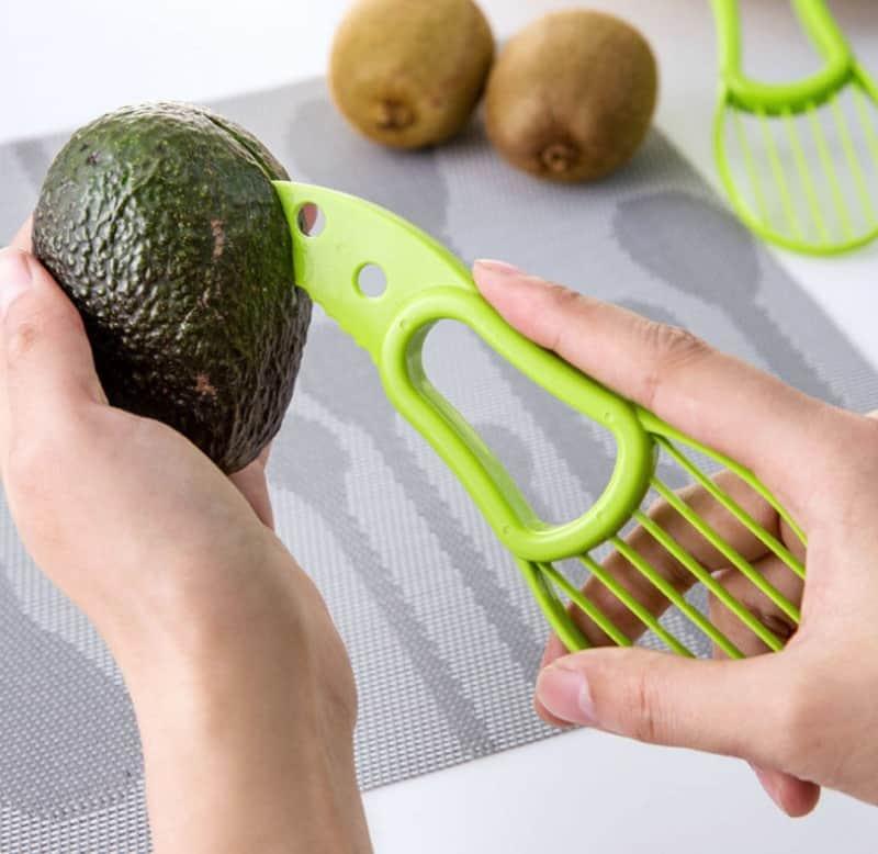 Приспособление для нарезки авокадо